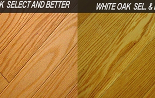 red oak white oak