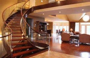brazilian cherry stairs