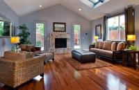 tigerwood family room