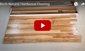Birch Natural 3 1/4 Hardwood Flooring