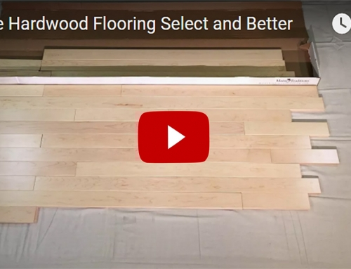 Maple Hardwood Flooring Select and Better 3 1/4″