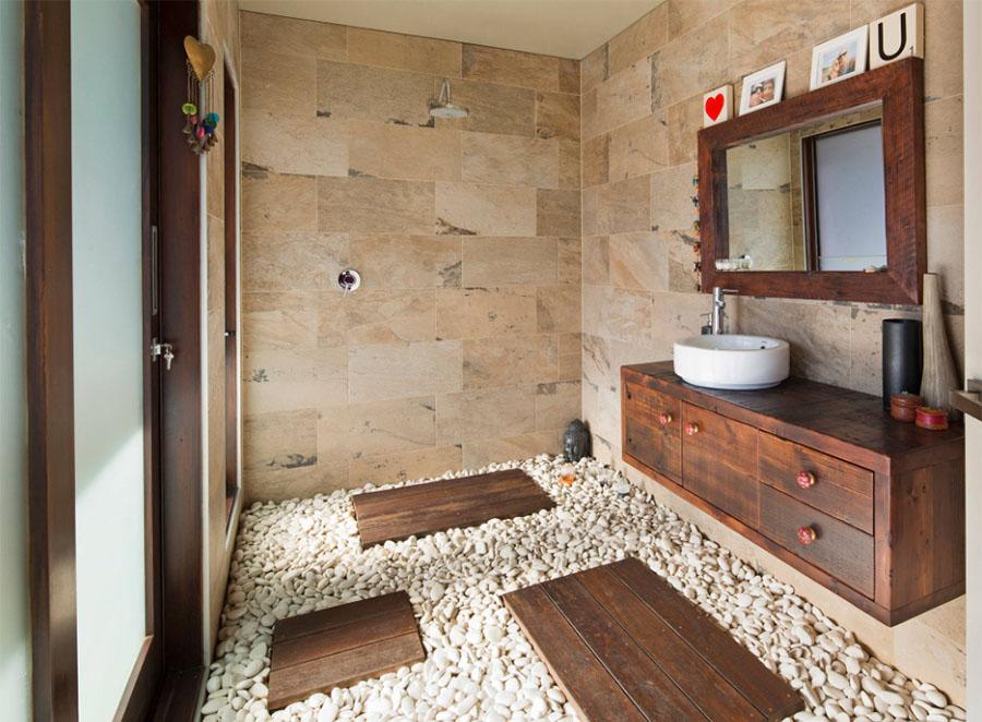 Slate Indian Autumn Bathroom