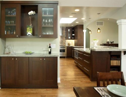 Walnut Shaker Kitchen