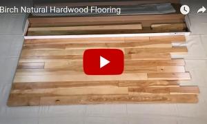 Birch Natural 3 1/4 Hardwood Flooring
