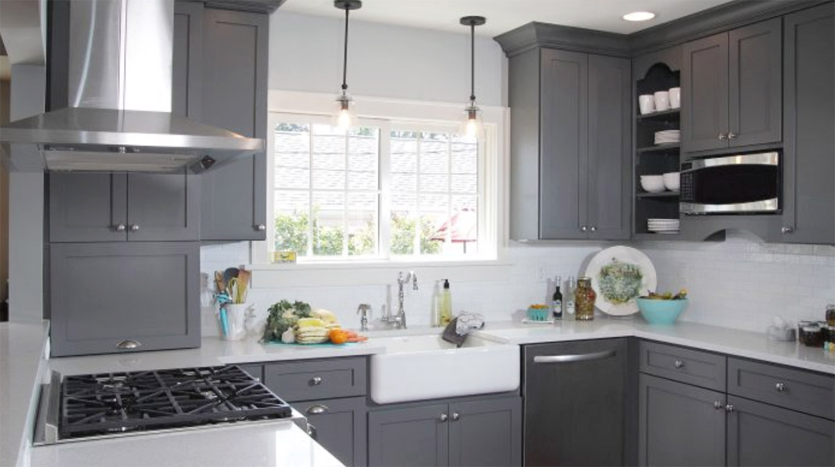 gray shaker kitchen cabinets steel grey shaker cabinets thewoodloorsource 3934
