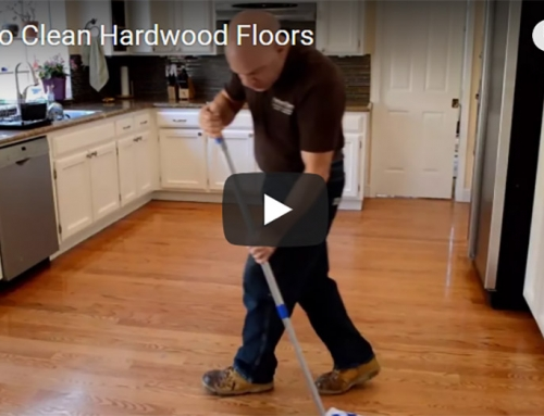 How to Clean Hardwood Floors Video